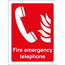 Fire Emergency Telephone - 150x200mm - SAV 21068E