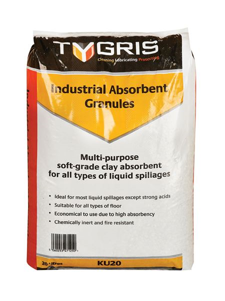 TYGRIS® Clay Absorbent Granules - 20L Bag AB2001