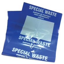 Special Waste Bags with Ties - rolls of 10 (20*10 per case) AB5442