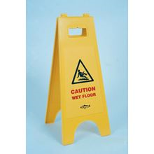 'Caution Wet Floor' Plastic A-Board BC1480