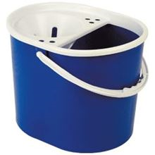 Plastic Mop Bucket with Cone Wringer BR0108