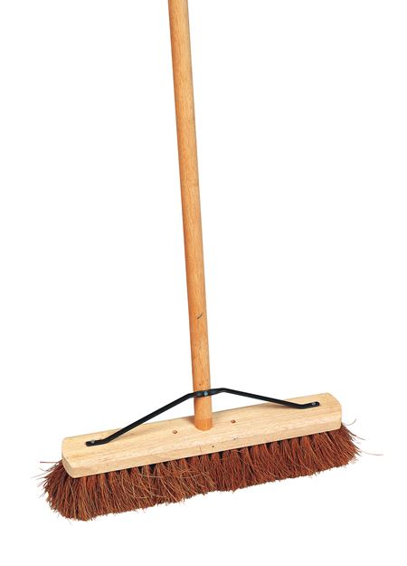 "Soft Coco Platform Broom - 24"" BR0124"