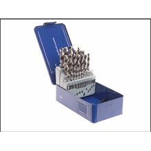 25pce HSS Twist Drill Set Professional Fully Ground 1 - 13mm CT6203