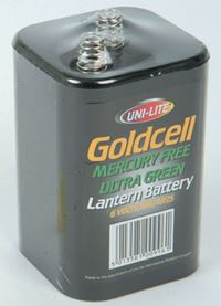 UNI-LITE 'Goldcell' 6V Lantern Battery EA1773