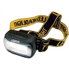 Headtorch - 3 Ultrabright White LEDs EA6170