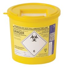 2 LTR SHARPS SAFE BOX FA3730