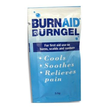 Burns Cooling Gel - satchets pack of 20 FA4159
