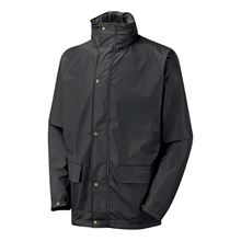 VELTUFF® 'Paris' Contractors PU Rain & Windproof Jacket + Hood FW9754