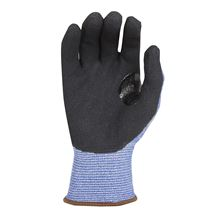 'Tek Blue' Foam Nitrile Palm-Coated Gloves - Cut Level 5 GL0098