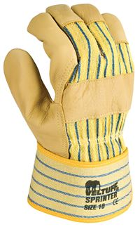 VELTUFF® Yellow Hide Sprinter Rigger Gloves GL3018