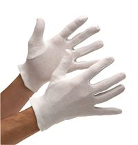 Low Lint Cotton Interlock Gloves - Mens GL3236