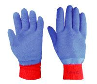 Latex Fully Dipped 'Blue-Grip' Gloves GL4238