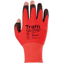 TRAFFIGLOVE 'Speed' 3-Digit PU-Coated Glove - Cut Level 1 GL4384
