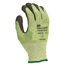 VELTUFF® 'Shielder' Green PU-Coated Gloves - Cut Level 5 GL5496