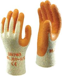 SHOWA 'Latex' Palm-Coated Handling Gloves GL7604
