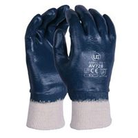 VTX 'Jaguar' Fully-Coated Blue Nitrile Gloves GL7616