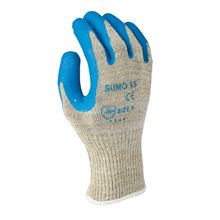 SUMO Blue Latex & Kevlar Cut Level 5 Gloves GL7625