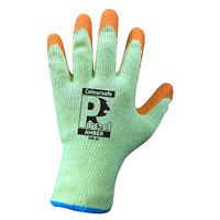 PredAmber 'Multi-Grip' Orange Latex Gloves GL9650