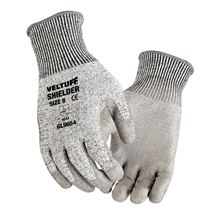 VELTUFF® 'Shielder' Grey PU-Coated Gloves - Cut Level 5 GL9654