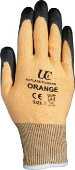 Kutlass Orange PU Coated Gloves GL9973