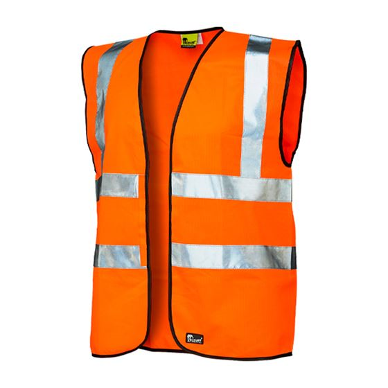 VELTUFF® 'TWO-BAND' Hi-Vis Vest VC20 HV2194