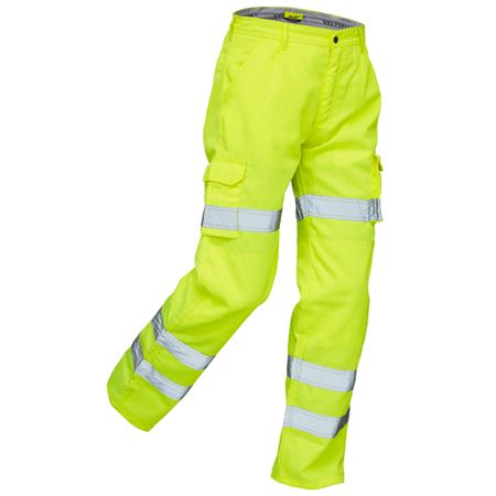 VELTUFF® 'STANMORE' Hi-Vis Cargo Trousers HV2205