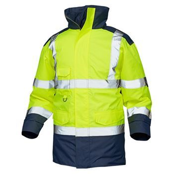 VELTUFF® 'Mercury' Two-Tone Waterproof Hi-Vis Jacket HV4865