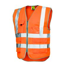 VELTUFF® 'Executive' Two-Band Hi-Vis Vest HV5323