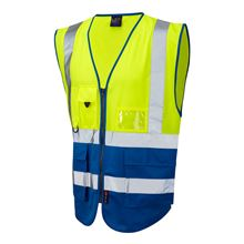'Executive Two-Tone' Two-Band Hi-Vis Vest HV5325