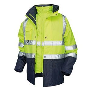 POLAR High Visibility Waterproof Contrast 5 in 1 Jacket VC20 HV5328