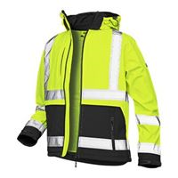 VELTUFF® Hi-Vis Two-Tone Softshell Jacket VC20 HV6516