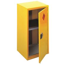 Yellow Flammable Cabinet - Single LC0902