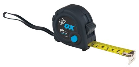 OX 'Trade' Heavy-Duty Tape Measure - 5m MP0635