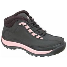 Black/Pink Ladies Hiker Safety Boot SB SRA SF7378