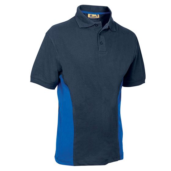 VELTUFF® 'Zone - Base' Two-Tone Polo Shirt SH0053