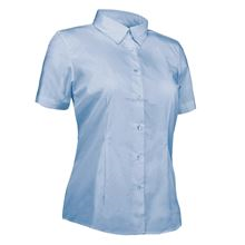 'Park Lane' Ladies Short-Sleeved Oxford Blouse SH1340