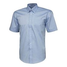 VELTUFF® 'Park Lane' Mens Short-Sleeved Oxford Shirt SH4926