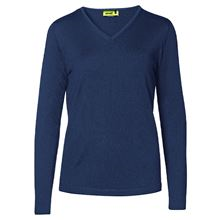 KUSTOM KIT 'Arundel' Ladies V-Neck Pullover SH9723