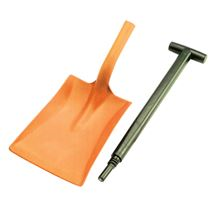 Two-Part Plastic Shovel SI0282