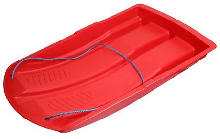 Red Extra Large Plastic Sledge SI8388