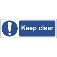 Keep clear - 300x100mm - RPVC SK11301
