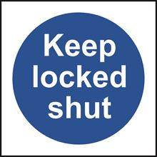 Keep locked shut - 100x100mm - RPVC SK11333