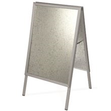 'A' Board - Pavement sign - A2 - Silver SK14083