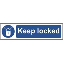 Keep Locked - 200x50mm - PVC SK5011