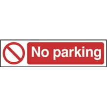 No Parking - 200x50mm - PVC SK5056