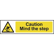 Caution Mind Step - 200x50mm - PVC SK5109