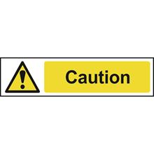 Caution - 200x50mm - PVC SK5113