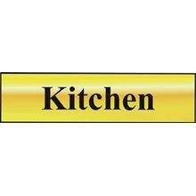 Kitchen - 200x50mm - Gold Effect - PVC SK6016