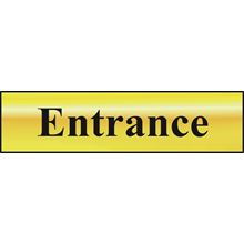 Entrance - 200x50mm - Gold Effect - PVC SK6024