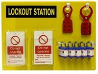 Safety Lockout Station Kit 5 SKLOK113